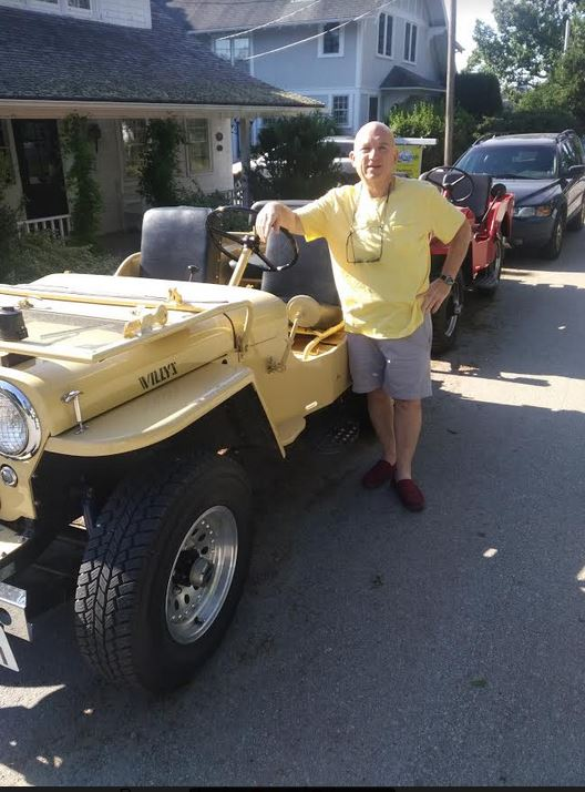 From The Archives: Tim Harris' Other Passion Is To Build 1940s Military Jeeps From Car Kits