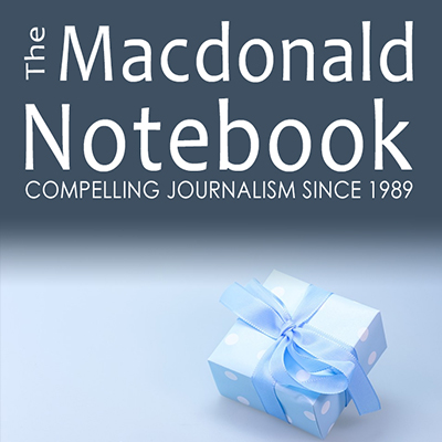 The Macdonald Notebook: Give the Gift