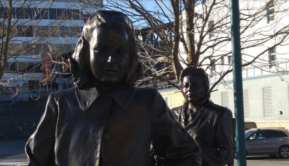 A Tourist In My Own City: On The Halifax Waterfront Statues Pay Tribute To Three Women Volunteers