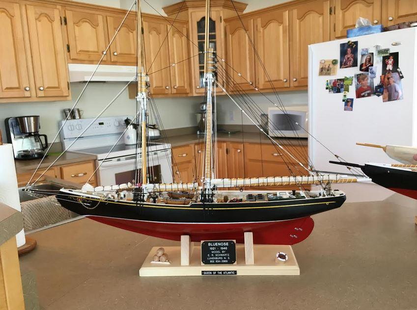 Lunch With Alison: Lunenburg's Model Boat Builder