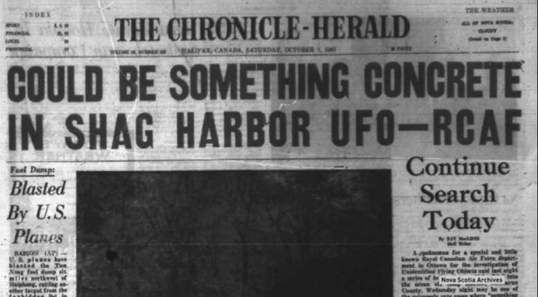 MacHistory: Remembering The Celebrated 'UFO Crash' Oct 4, 1967, In Shag Harbour