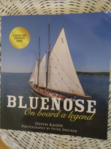 Lunch With Alison: Lunenburg's Peter Zwicker Captures Iconic Bluenose II In Book Form