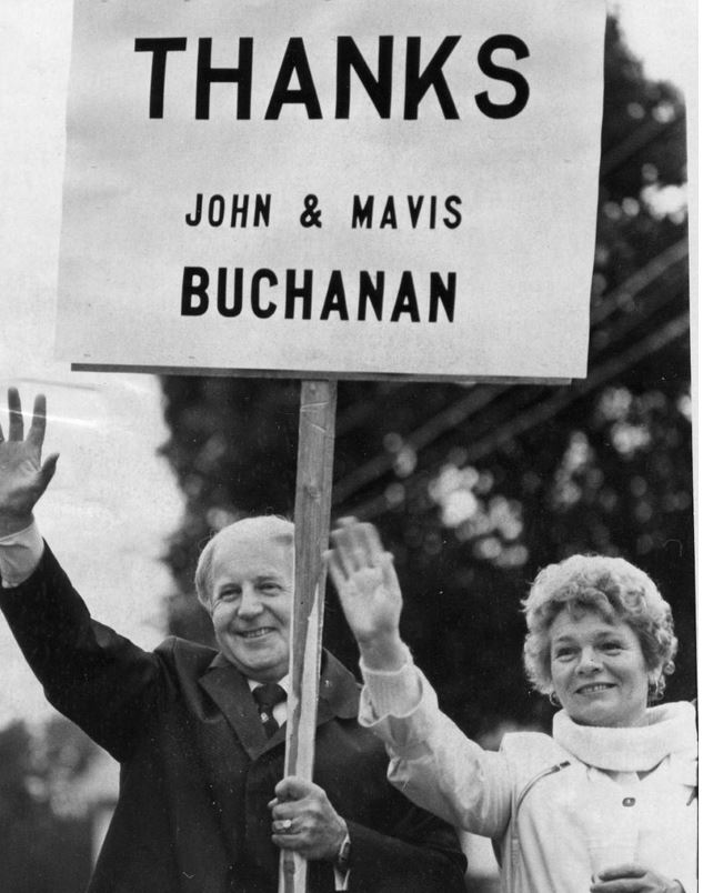 Notebook Archives: Before He Died, John Buchanan Confessed: 'I Could Not Say No To The Voters'