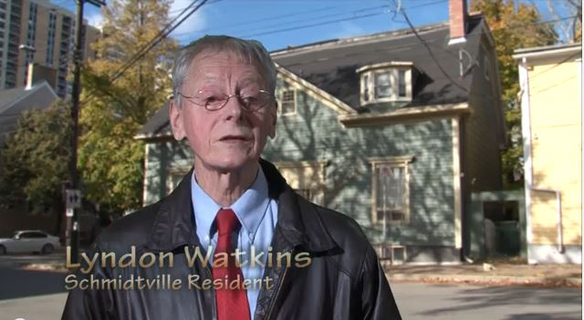 Lyndon Watkins – The Mayor Of Schmidtville – Provides A Youtube Tour Of Halifax's First Subdivision – Established In 1750s
