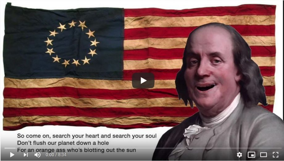 "YouTube Moment: ""Singin' The Day U.S. Democracy Died"" – A Trump Political Parody"