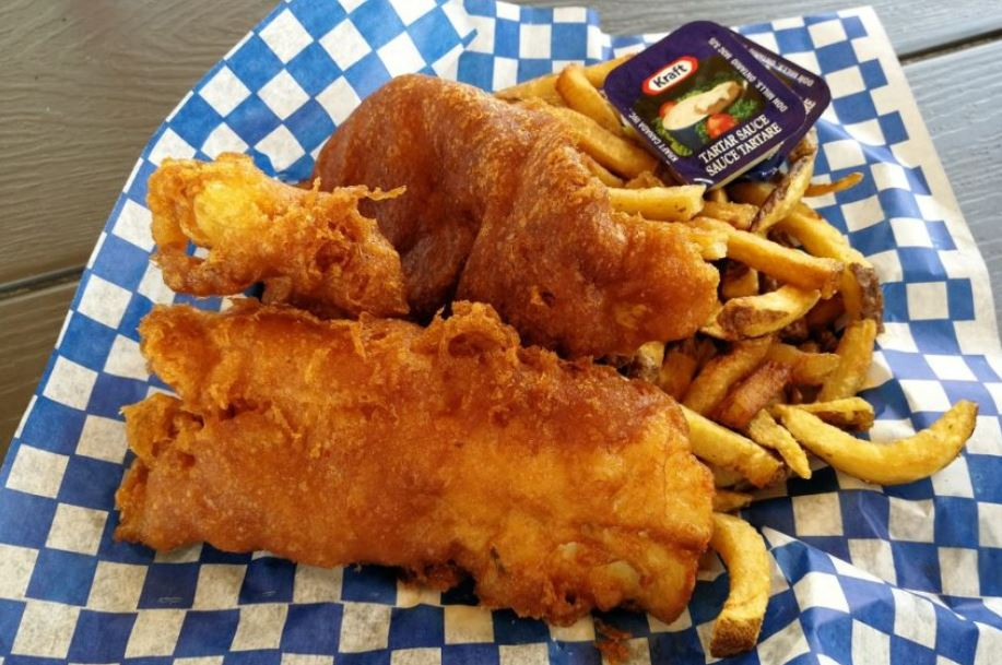 The Halifax Restaurateur: Fish 'n Chips Quest In Fisherman's Cove