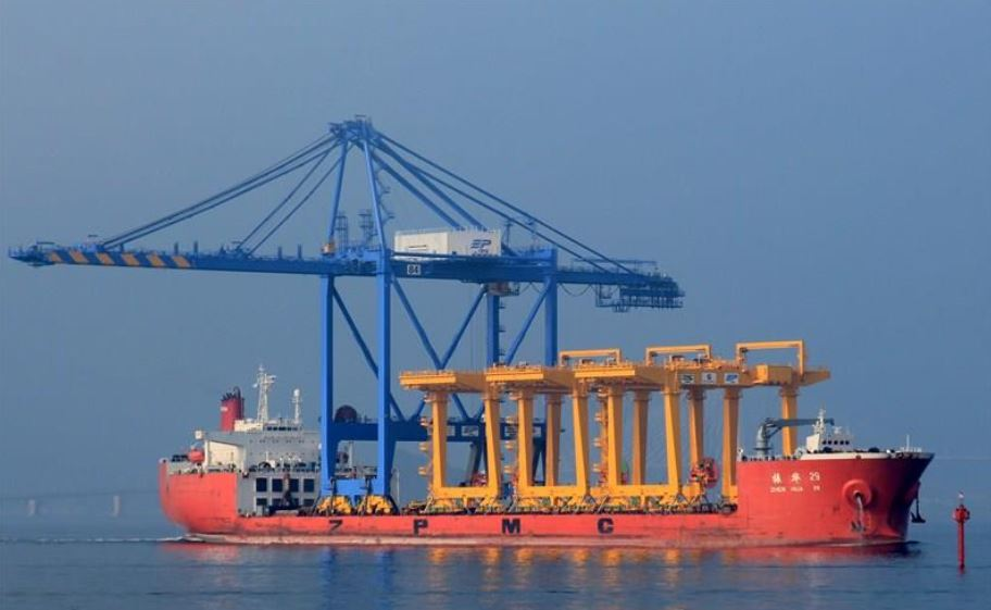 Our Sunday News Scoop: Halifax Port: That $12M Crane Being Shipped To Southend Container Terminal Delayed Off Coast Of Africa