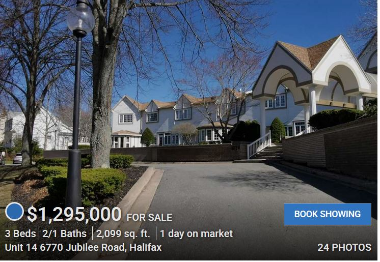 Even In A Pandemic, Realtor Rick Foster Lists A $1.295M Halifax Condo, Part II