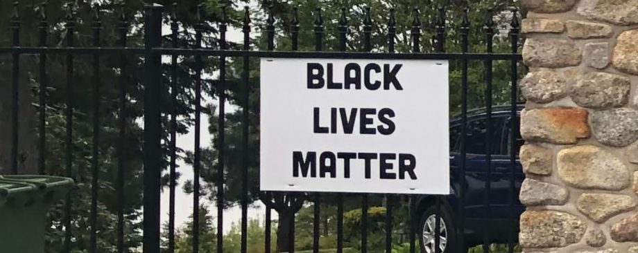 Encore: In Chester, Tim Moore Put Up A Sign: Black Lives Matter & Butch Heisler Raised A Trump Flag….