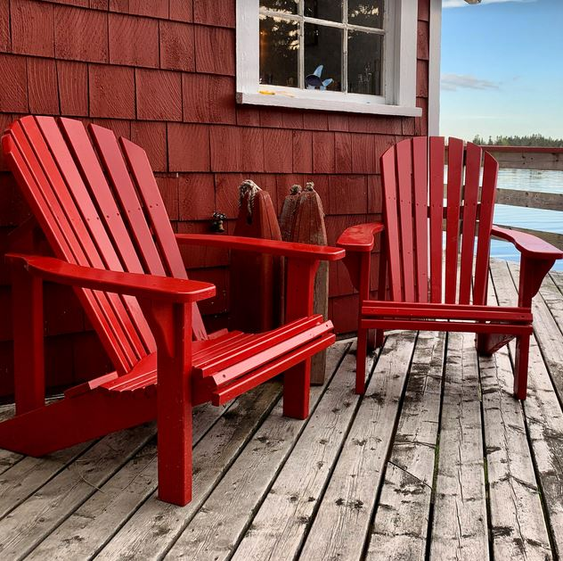 Alison Strachan: Ron Allen's 'Add A Ron Deck Chair' In East LaHave