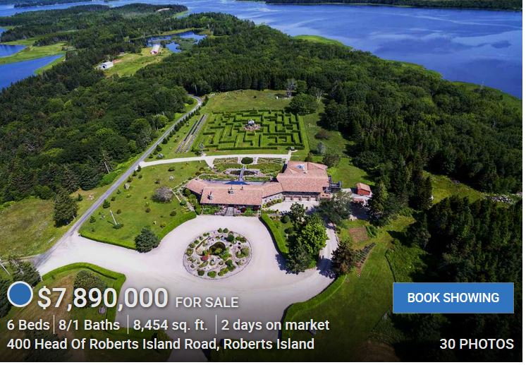 Here We Go Again: Pasta Primavera's Yarmouth Creation (Part V): How A $7.9 Million Mansion On Yarmouth Island Was Financed – Where The Money Came From