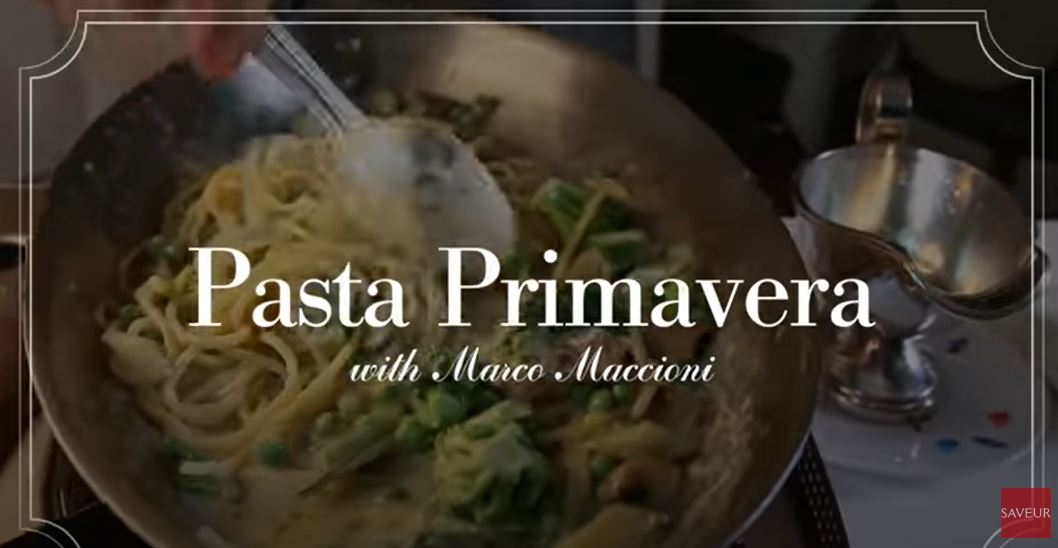 Oh My!: The Notebook's Pasta Primavera Chronicles: (Part VI): Yarmouth Created Italian Dish In 1975 Was The Talk Of Manhattan – The NY Times Reported In 1977