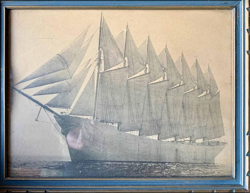 Part II: Boston Financier Of Seven-Masted Schooner Had A Nova Scotia Connection
