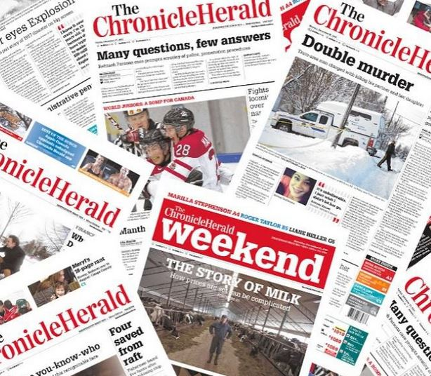 Exclusive: Halifax Herald Set To Launch Five New Freebie Weeklies, Yarmouth Vanguard And Antigonish Casket Will Return At Future Date As Paid Products