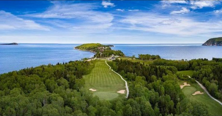 Tom Peters' Golf Tour Takes Him To Highland Links In Ingonish