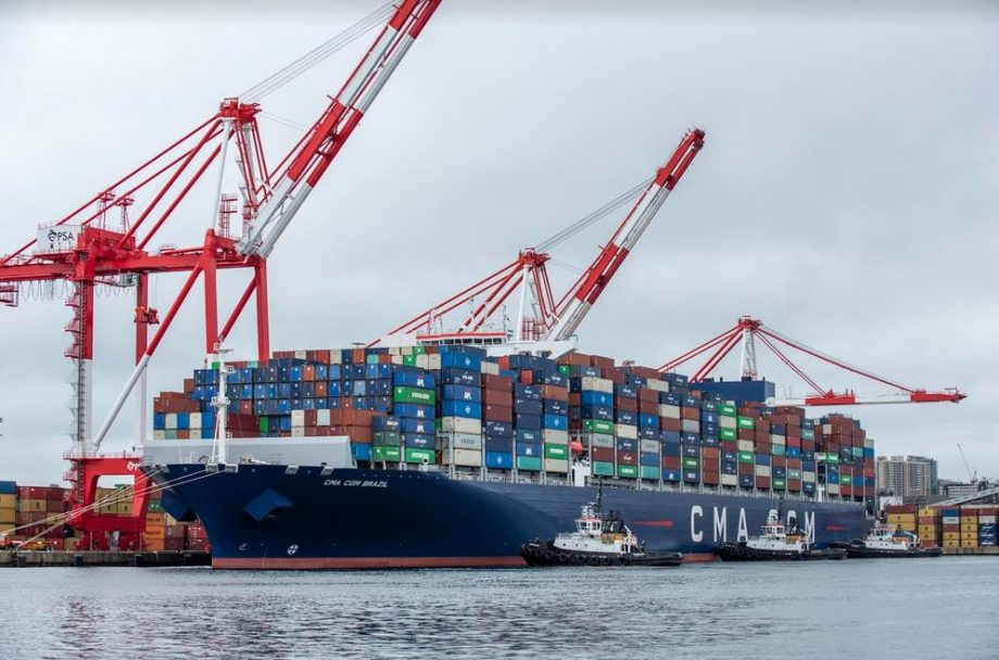 Halifax Port: Capt. Allan Gray Welcomes Largest Container Ship In History-Making Ship Call To Canadian Port