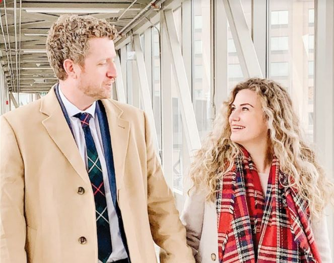 MacPolitics: Iain Rankin & Mary Chisholm's Holiday Card – All Decked Out In Tartan