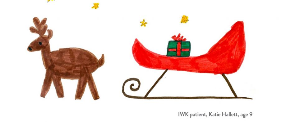 Colin MacDonald On Katie's Christmas Card: Nine-Year Old Created Holiday Card At IWK – It Is Poignant & Rather Touching