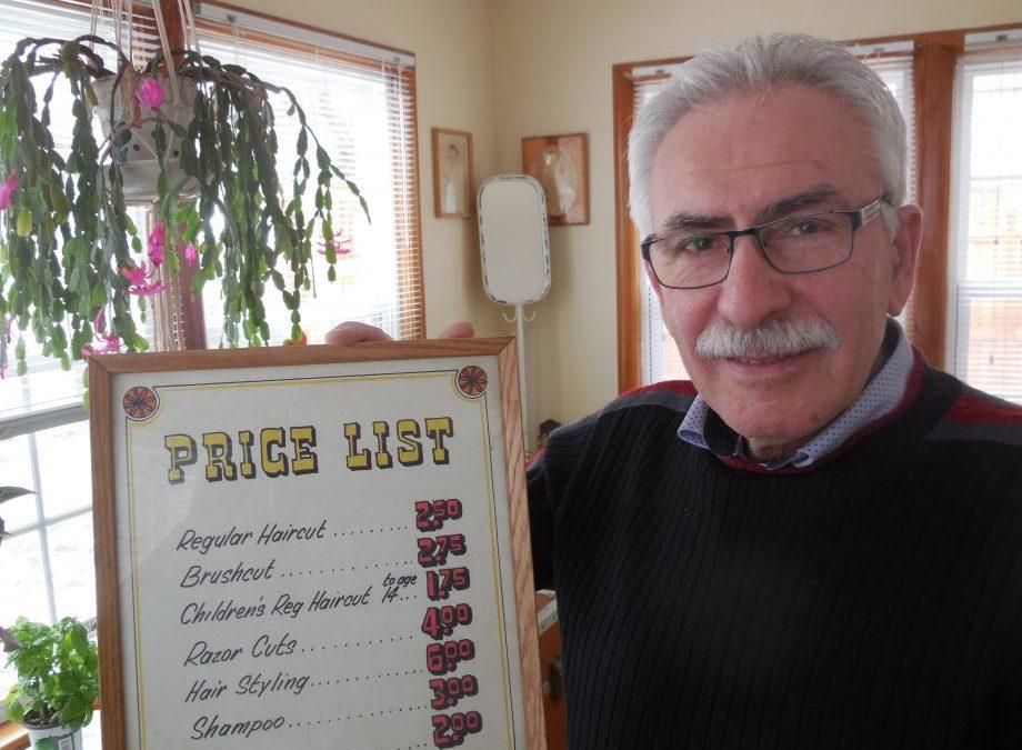 Popular Halifax Barber Retires After 51-Year Career