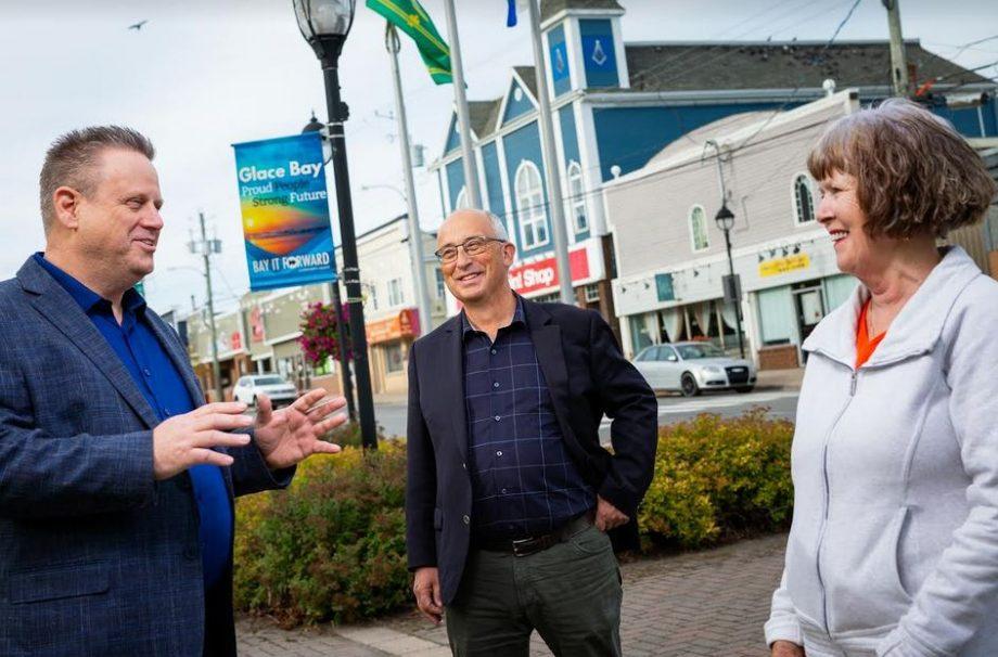 MacPolitics: Burrill & Cape Breton  Candidates Gather In Glace Bay