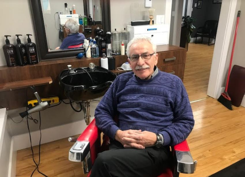 Popular Barber Amedeo 'Tony' Ravina Retires After 51 Years