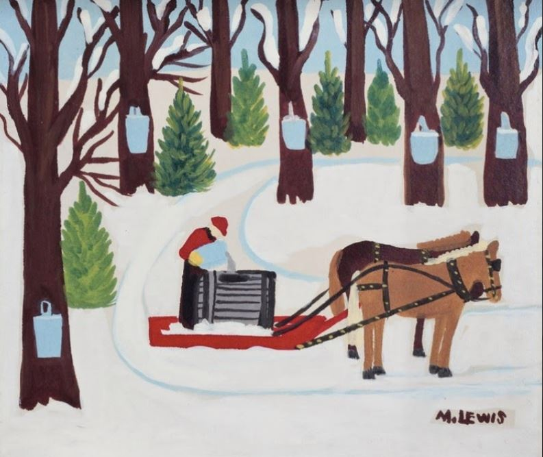 Alison Strachan: When Maple Sugar Production Meets Artwork Meets Memories