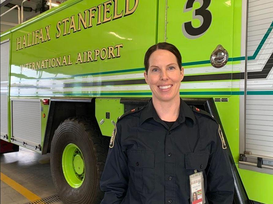 Meet Andrea Landry: Firefighter At Halifax Stanfield International Airport