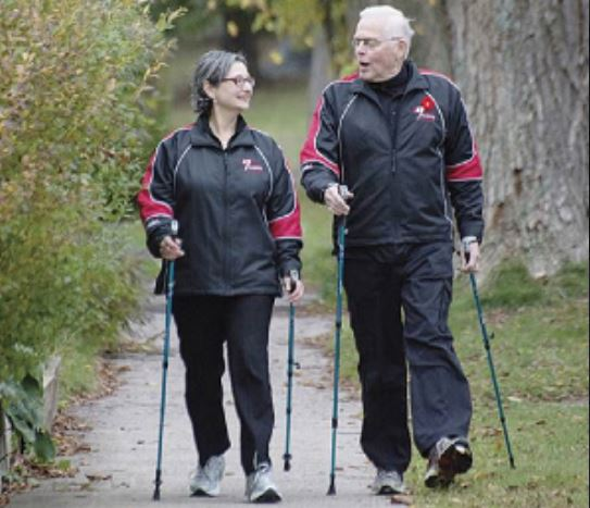 For Bill & Esther VanGorder, Nordic Walking Is Passion, Not Just Business