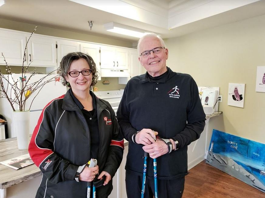 Maritime Senior Is Keeping Fit With His Halifax-Based Nordic Walking Business
