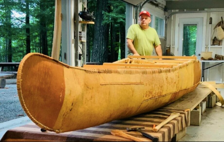 Lunch with Alison: Todd Labrador – One Who Dances On Water (A Master Builder of Birchbark Canoes)