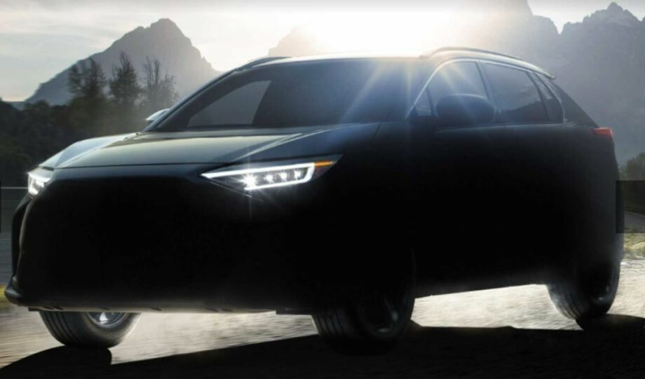 Alison Strachan: Subaru's Electric SUV Solterra Is On The Way