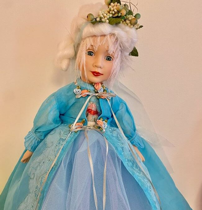 Alison Strachan: Joan Doherty's 'A Calendar Of Dolls' At Captain's House Gallery In Chester