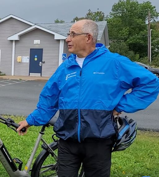 MacPolitics: Tory Talk: Mark Parent Goes Biking For Votes, Fiona MacLeod Campaigns In RV & Steven Cotter Puts Out A Fire & Election Machine David Hensbee Gathers Votes For Angela Conrad